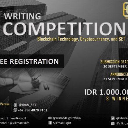 Silkroad Eight Writing Competition Berhadiah Rp 1.000.000 untuk 3 Pemenang