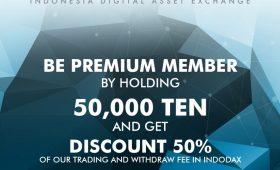 Indodax Tawarkan Diskon Biaya Trading dan Penarikan untuk Member Premium