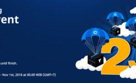 Airdrop 2 Juta VEX untuk Rayakan Kerja Sama dengan Coinone Indonesia