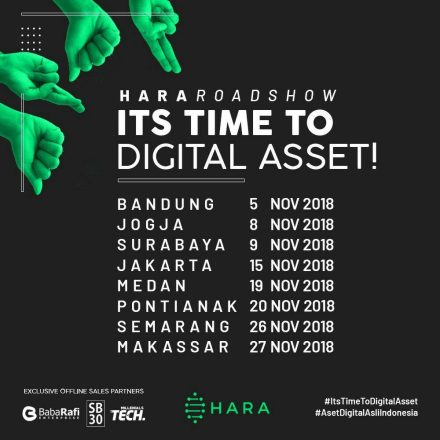 Jadwal HARA Roadshow Part 2 – November 2018
