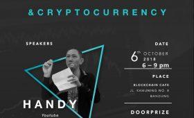 Introduction to Blockchain & Cryptocurrency @ Blockchain Cafe & Resto – 6 Oktober 2018