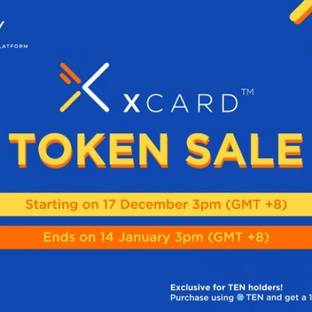 XCARD Meluncur di Tokenomy Launchpad 17 Desember 2018