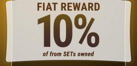 Dapatkan FIAT Reward Sebesar 10% Bagi Pemegang SET